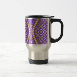 Blue Hourglass Design,Multi products selected Travel Mug