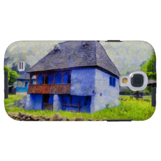 Blue house painting galaxy s4 case