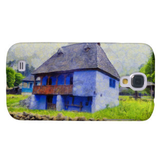 Blue house painting galaxy s4 covers