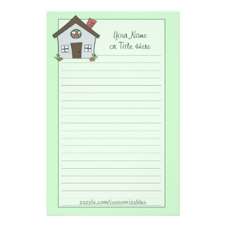 Blue House Stationery