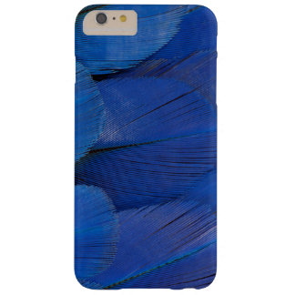 Blue Hyacinth Macaw Feather Design Barely There iPhone 6 Plus Case