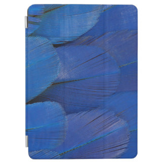 Blue Hyacinth Macaw Feather Design iPad Air Cover