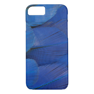 Blue Hyacinth Macaw Feather Design iPhone 8/7 Case