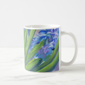 Blue hyacinths coffee mug