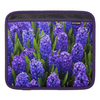 Blue Hyacinths Sleeve For iPads