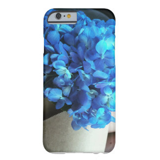 Blue Hydrangea Barely There iPhone 6 Case