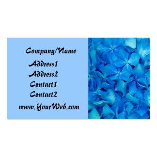 Blue Hydrangea Business Card