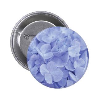 Blue Hydrangea Buttons