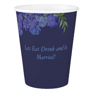 Blue Hydrangea Cup