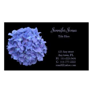 Blue Hydrangea Floral Business Card