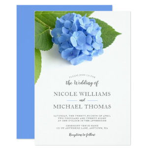 hydrangea wedding invitations zazzle com au