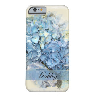 Blue Hydrangea Flower Barely There iPhone 6 Case