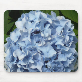 Blue Hydrangea Flower Mouse Mats