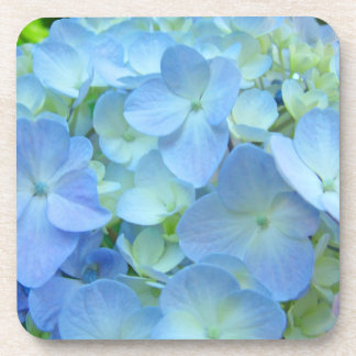 Blue Hydrangea Flowers gifts Cork Coasters Floral