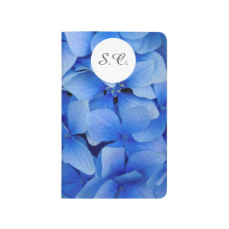 Blue Hydrangea Flowers Journals