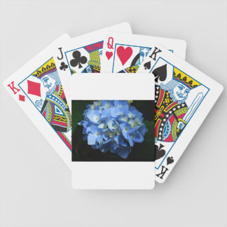 Blue Hydrangea II Bicycle Playing Cards