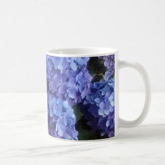 Blue Hydrangea Love Basic White Mug