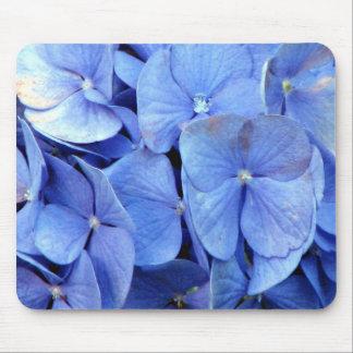blue hydrangea mouse mats