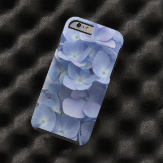 Blue Hydrangea Petals Tough iPhone 6 Case
