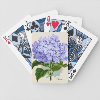 Blue Hydrangea Playing Cards
