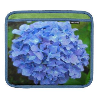 Blue Hydrangea Sleeve For iPads
