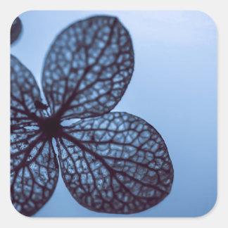 Blue Hydrangea Square Sticker