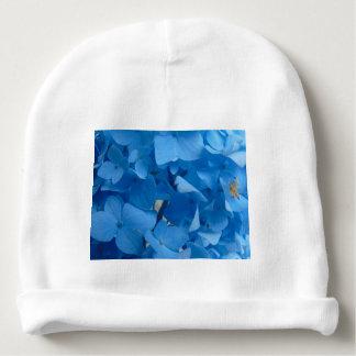 Blue Hydrangeas Baby Beanie
