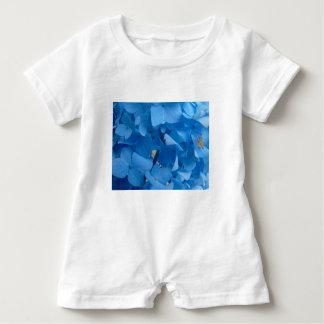 Blue Hydrangeas Baby Bodysuit