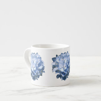 Blue Hydrangeas Espresso Cup