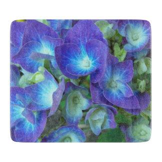 Blue Hydrangeas Floral Cutting Board