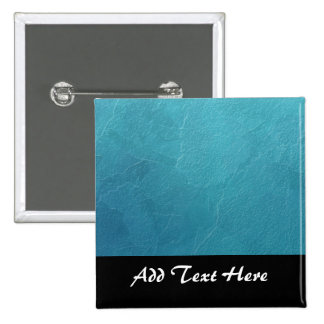 Blue Ice Abstract Artwork 15 Cm Square Badge