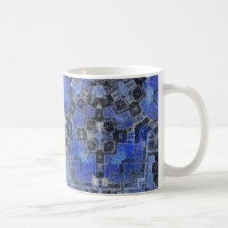 Blue Ice Basic White Mug