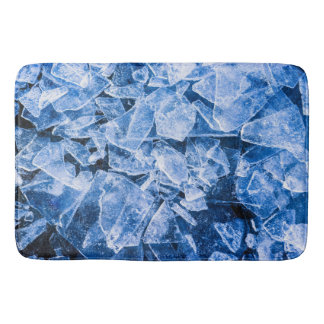 Blue Ice Bath Mats