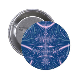 Blue Ice Crystals Pin