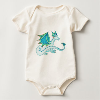 Blue Ice Dragon Onsie Creeper