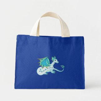 Blue Ice Dragon Tote Bag