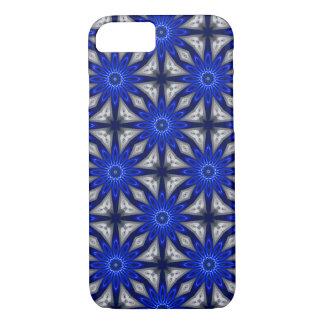Blue Ice Fractile Art Custom Phone Cover