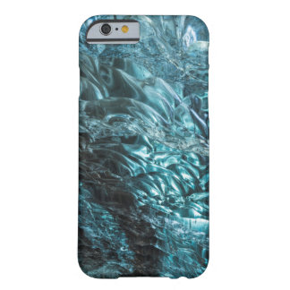 Blue ice of an ice cave, Iceland Barely There iPhone 6 Case