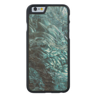 Blue ice of an ice cave, Iceland Carved® Maple iPhone 6 Slim Case