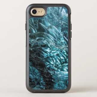 Blue ice of an ice cave, Iceland OtterBox Symmetry iPhone 8/7 Case