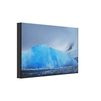 Blue Iceberg Canvas Print