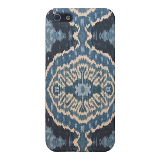 Blue Ikat IPhone Case Case For iPhone 5/5S