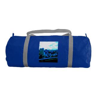 Blue image Sports bag Part 1 Gym Duffel Bag