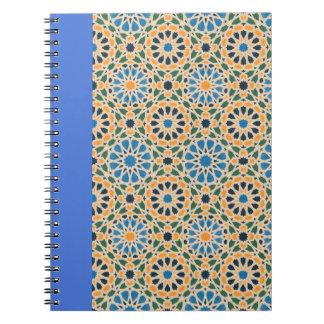Blue in Bloom Pattern Notebook