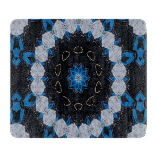 Blue in the morning and night cutting board
