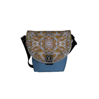 """Blue India"" Mini Messenger Bag"