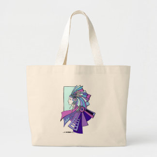 Blue Indian american inspiration Bag