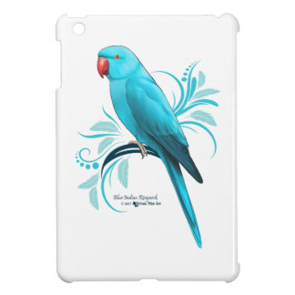 Blue Indian Ringneck Parrot Cover For The iPad Mini