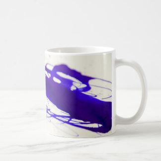 Blue Ink Spill Coffee Mug