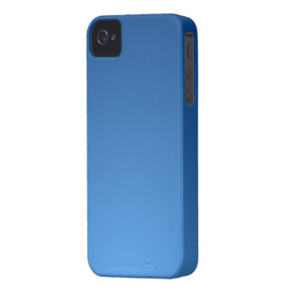 Blue iPhone 4/4S Barely There Case
